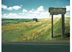 超大影楼背景图片-光州牧场