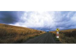 影楼背景图片-浪漫路途