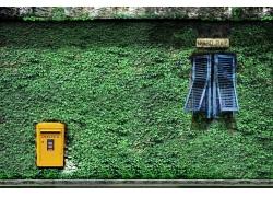影楼主题背景-邮递窗
