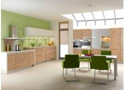 厨房装修效果图01