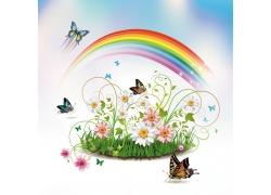 蝴蝶与彩虹