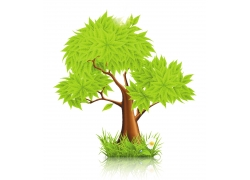 绿色树木素材