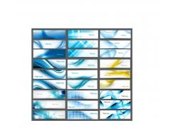 科技名片模板