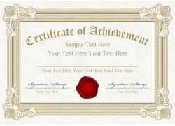 企业证书设计模板