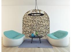 休闲客厅室内设计图片