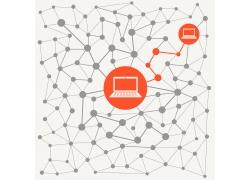 网络科技背景设计