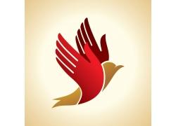 卡通飞鸟logo设计