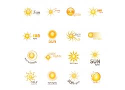 卡通太阳logo设计