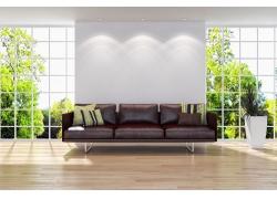 现代简约风格客厅装潢设计