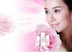 化妆品广告设计模板