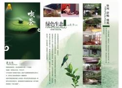 茶文化折页模板