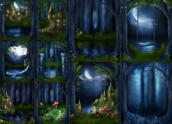 10张儿童主题影楼背景