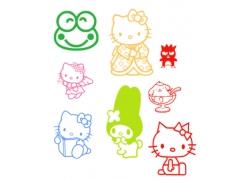 kitty猫photoshop笔刷