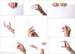 手中的卡片高清图片(10p)