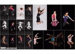 跳跃的人物图片素材(19p)