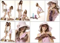 女鞋购物高清图片(7p)