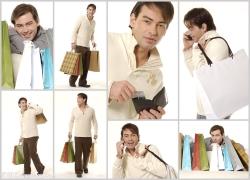 男性购物高清图片(8p)