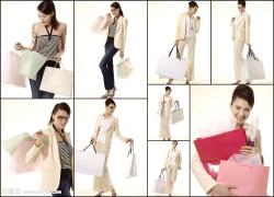 白领丽人购物高清图片(9p)