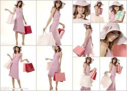 女性购物高清图片(11p)