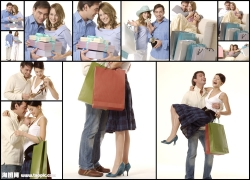 夫妻购物高清图片(12p)