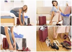 女人与鞋子高清图片(4p)