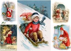 圣诞节插画高清图片(5p)