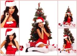 圣诞美女高清图片(5p)