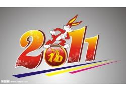 2011兔年矢量素材
