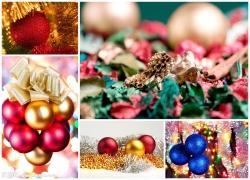 圣诞球高清图片素材5p