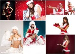 圣诞女郎图片素材(8p)