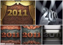 2011字体设计图片素材(5p)