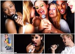 唱歌的人物图片素材(5p)