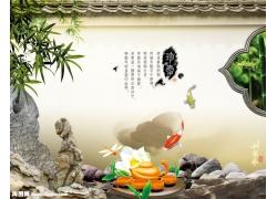 中国风茶文化psd素材