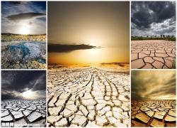 干涸的土地图片素材(5p)