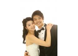 幸福新郎新娘PSD素材