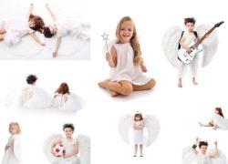 儿童小天使图片素材(9p)