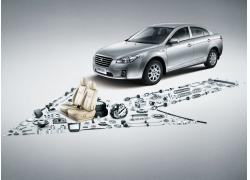 奔腾B50汽车广告设计