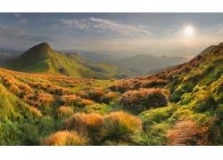 山峰自然风景图片