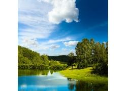 自然山林风景图片