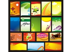 海报模板设计矢量素材