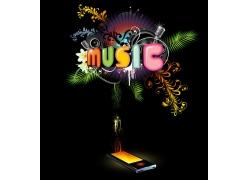 音乐music海报设计psd素材