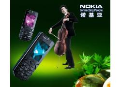 诺基亚手机宣传海报PSD素材