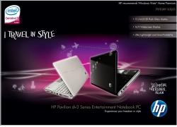 惠普笔记本电脑广告PSD素材
