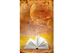 魔法书与咒语图片素材