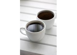 两杯咖啡高清图片