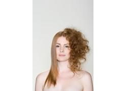 欧美超靓模特发型图片素材