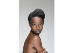 模特个性发型图片素材