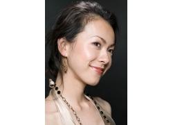 微笑美女发型设计高清图片