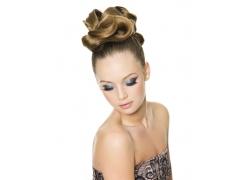 性感女人发型设计高清图片