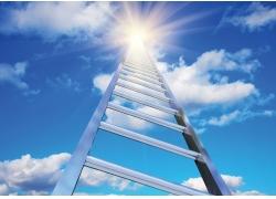 通向天堂的梯子高清图片